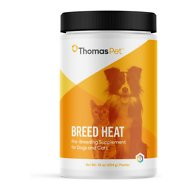 Thomas Labs Breed Heat Dog & Cat Powder, 16-oz jar