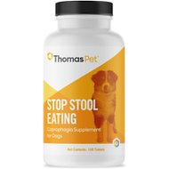 Thomas Labs Stop Stool Eating Dog Tablets, 100 count