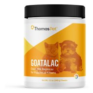 Thomas Labs Goatalac Goat Milk Replacer Powder Puppy & Kitten Supplement, 12-oz