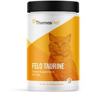 Thomas Labs Felo Taurine Powder Cat Supplement, 16-oz jar