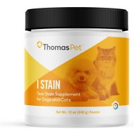 Thomas Labs I Stain Tear Stain Powder Dog & Cat Supplement, 12-oz jar