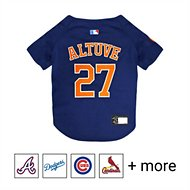 Pets First MLB Players Dog & Cat Jersey, Jose Altuve, Small