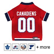 Pets First NHL Hockey Dog & Cat Jersey, Montreal Canadiens, Small