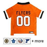 Pets First NHL Hockey Dog & Cat Jersey, Philadelphia Flyers, Small