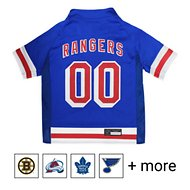 Pets First NHL Hockey Dog & Cat Jersey, New York Rangers, X-Small