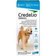 Credelio Chewable Tablet for Dogs, 50.1-100 lbs, 6 count