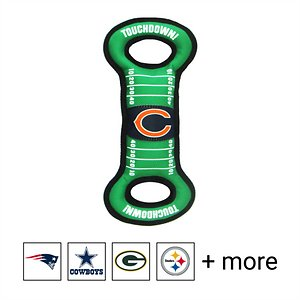 Pets First NFL Field Dog Toy, Chicago Bears
