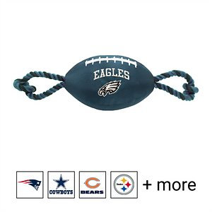 Pets First NFL Football Rope Dog Toy, Philadelphia Eagles