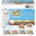 Fancy Feast Gourmet Naturals Coconut Milk Infused Variety Pack Canned Cat Food