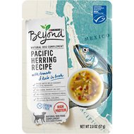 Purina Beyond Grain-Free Pacific Herring Recipe in Broth Wet Dog Food Complement, 2-oz pouch, case of 16