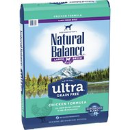 Natural Balance Original Ultra Chicken Formula Grain-Free Large Breed Dry Dog Food, 24-lb bag