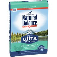 Natural Balance Original Ultra Senior Formula Chicken Formula Grain-Free Dry Dog Food, 24-lb bag