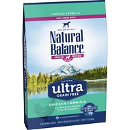 Natural Balance Original Ultra Chicken Formula Grain-Free Small Breed Dry Dog Food, 11-lb bag