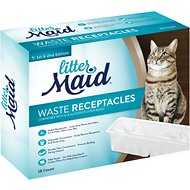 LitterMaid Waste Receptacles for Self-Cleaning Cat Litter Box, 18 count