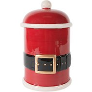 Design Imports Santa Belt Treat Storage Container