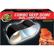 Zoo Med Combo Deep Dome Lamp, Large