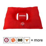 Pets First NCAA Football Pillow Dog Bed