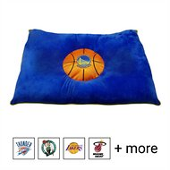 Pets First NBA Basketball Pillow Dog Bed, Golden State Warriors