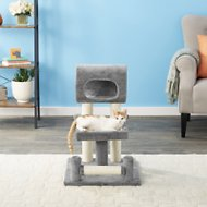 Frisco 28-in Faux Fur Cat Tree