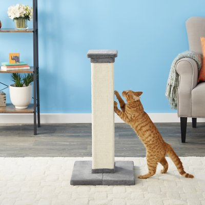 1. Frisco 33.5-in Sisal Cat Scratching Post