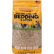 Sunseed Natural Corn Cob Small Pet & Bird Bedding & Litter, 5.7-L