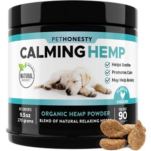 PetHonesty Hemp Calming Anxiety & Hyperactivity Soft Chews Dog Supplement