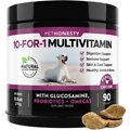 PetHonesty 10-for-1 Multivitamin with Glucosamine Soft Chews Dog Supplement