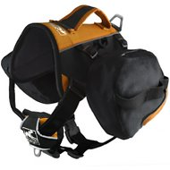 Kurgo Baxter Backpack (30-85 lbs) - Black/Orange, Black/Orange, 30-85 lbs