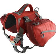 Kurgo Baxter Backpack (30-85 lbs) - Chili/Barn Red, Barn Red, 30-85 lbs