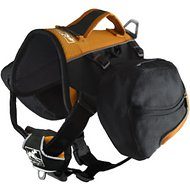 Kurgo Big Baxter Backpack (50-110 lbs) - Black/Orange, Black/Orange, 50-110 lbs