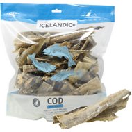 Icelandic+ Cod Skin Strips Dog Treats, 16-oz bag