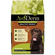 AvoDerm Healthy Weight Turkey Meal Formula Grain-Free Dry Dog Food, 24-lb bag
