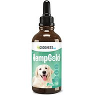 Fur Goodness Sake HempGold Hemp Oil Dog & Cat Supplement, 500 mg, 1-oz bottle
