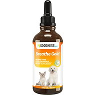 Fur Goodness Sake Breathe Gold Kennel Cough Dog & Cat Supplement, 2-oz bottle