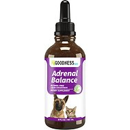 Fur Goodness Sake Adrenal Balance Cushings Dog & Cat Supplement, 2 oz bottle