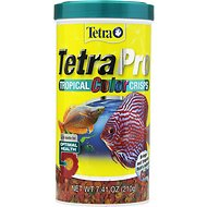Tetra TetraPro Tropical Fish Color Crisps Fish Food, 7.41-oz