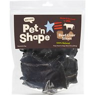 Pet 'n Shape Beef Liver Slices Dog Treats, 12-oz bag