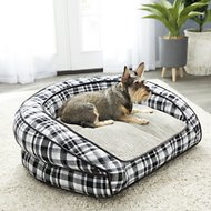 La-Z-Boy Tucker Sofa Dog Bed, Spencer Plaid