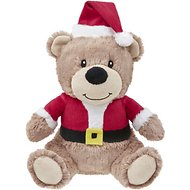 Frisco Christmas Bear Plush Dog Toy, Santa