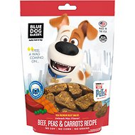 Blue Dog Bakery The Secret Life of Pets 2 Unleash Max Flavor! Beef, Peas & Carrots Recipe Dog Treats, 5-oz bag