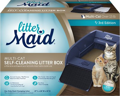 LitterMaid Automatic Multi Cat Self Cleaning Cat Litter Box