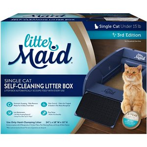 LitterMaid Self Cleaning Litter Box, Single Cat
