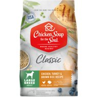 Chicken Soup for the Soul Large Breed Chicken, Turkey & Brown Rice Recipe Dry Dog Food