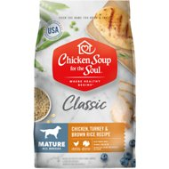 Chicken Soup for the Soul Mature Chicken, Turkey & Brown Rice Recipe Dry Dog Food