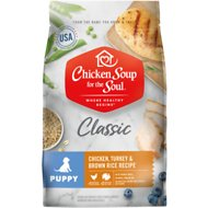 Chicken Soup for the Soul Puppy Chicken, Turkey & Brown Rice Recipe Dry Dog Food