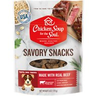 Chicken Soup for the Soul Savory Snacks Beef Dog Treats