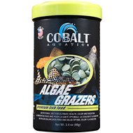 Cobalt Aquatics Algae Grazers Fish Food, 3.5-oz jar