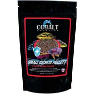 Cobalt Aquatics Cichlid Small Pellets Fish Food, 11-oz bag