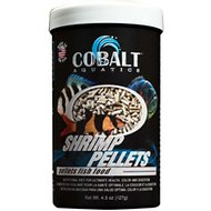 Cobalt Aquatics Shrimp Pellets Fish Food, 4.5-oz jar