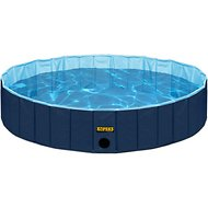KOPEKS Outdoor Portable Dog Swimming Pool, Blue, Medium